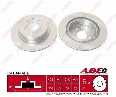 Диск тормозной ABE C41044ABE