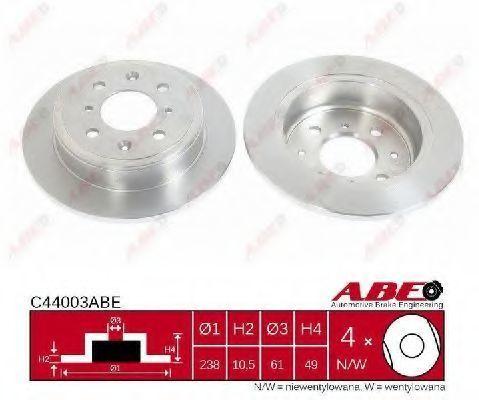 Диск тормозной ABE C44003ABE