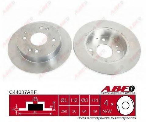 Диск тормозной ABE C44007ABE