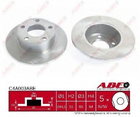 Диск тормозной ABE C4A003ABE