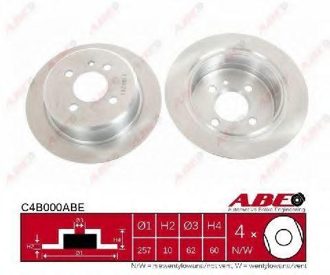 Диск тормозной ABE C4B000ABE