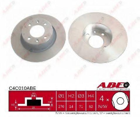 Диск тормозной ABE C4C010ABE