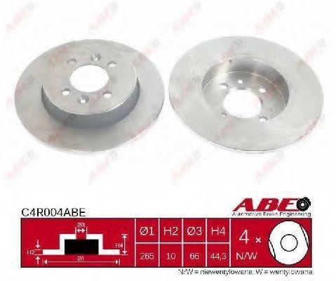 Диск тормозной ABE C4R004ABE