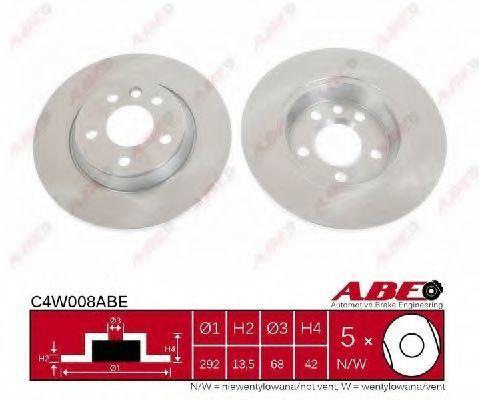 Диск тормозной ABE C4W008ABE