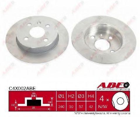 Диск тормозной ABE C4X002ABE