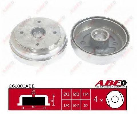 Барабан тормозной ABE C60001ABE