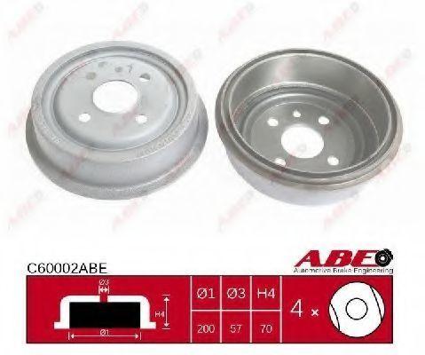 Барабан тормозной ABE C60002ABE