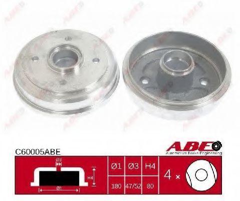 Барабан тормозной ABE C60005ABE