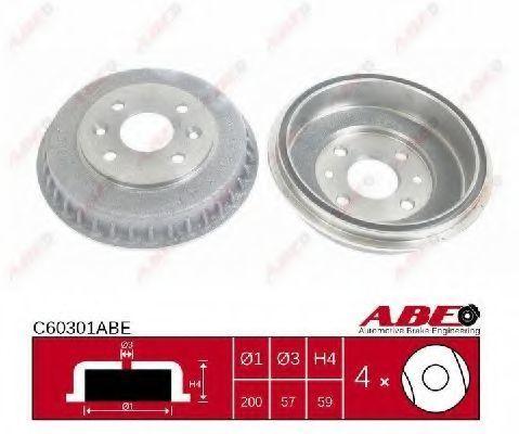 Барабан тормозной ABE C60301ABE