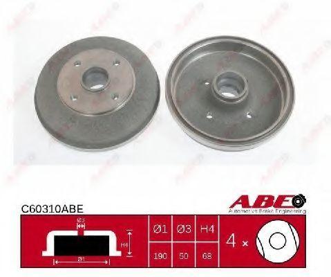 Барабан тормозной ABE C60310ABE