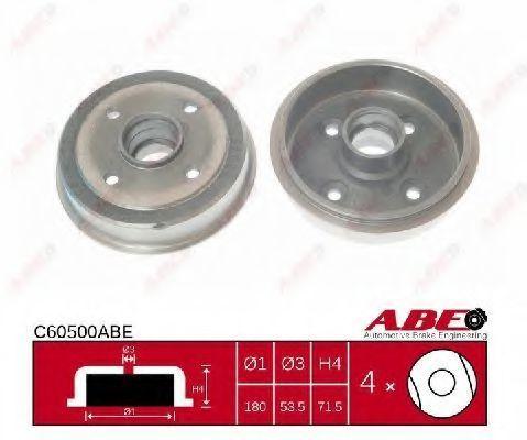 Барабан тормозной ABE C60500ABE