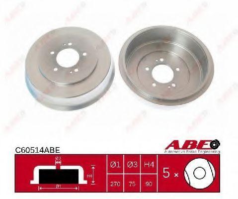Барабан тормозной ABE C60514ABE