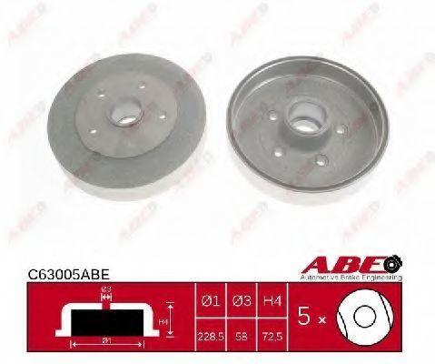 Барабан тормозной ABE C63005ABE
