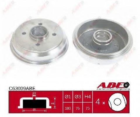 Барабан тормозной ABE C63009ABE