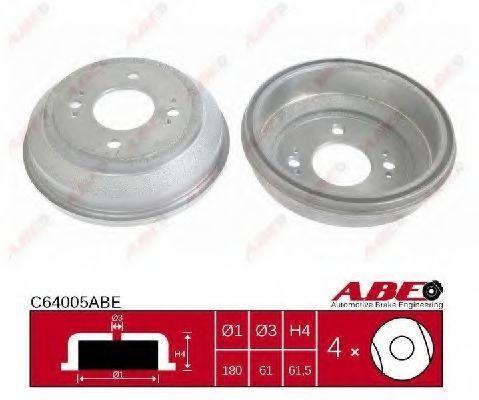 Барабан тормозной ABE C64005ABE