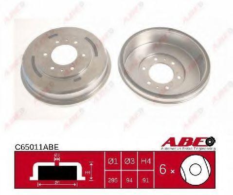 Барабан тормозной ABE C65011ABE