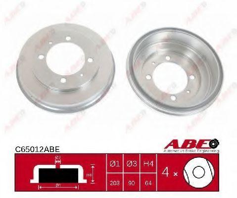 Барабан тормозной ABE C65012ABE