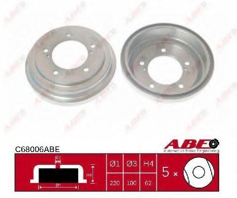Барабан тормозной ABE C68006ABE