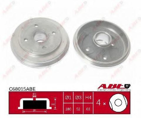Барабан тормозной ABE C68015ABE