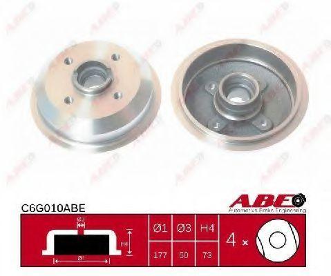 Барабан тормозной ABE C6G010ABE