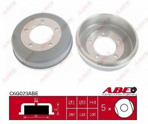 Барабан тормозной ABE C6G023ABE