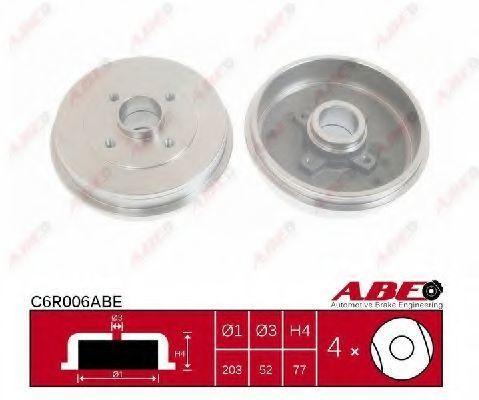 Барабан тормозной ABE C6R006ABE