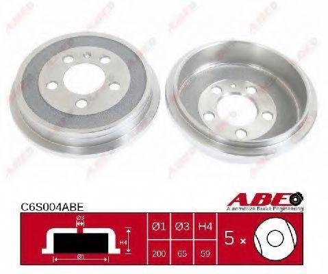 Барабан тормозной ABE C6S004ABE