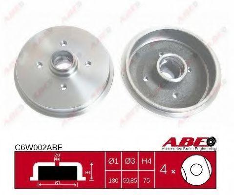 Барабан тормозной ABE C6W002ABE