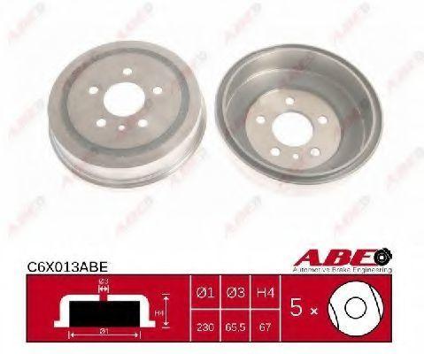 Барабан тормозной ABE C6X013ABE