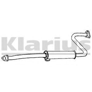 Средний глушитель выхлопных газов KLARIUS 260294