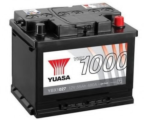 Аккумулятор 55Ач YUASA YBX1027