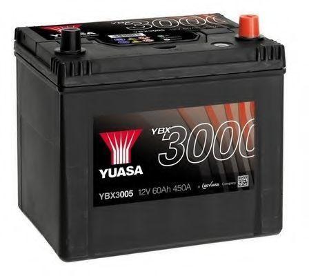 Аккумулятор 12В 60Ач SMF YUASA YBX3005