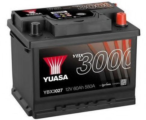 Аккумулятор 12В 60Ач SMF YUASA YBX3027