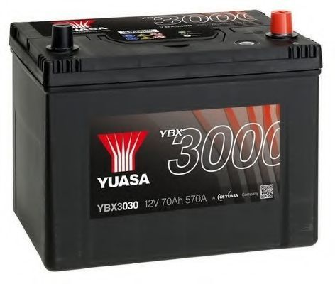 Стартерная аккумуляторная батарея YUASA YBX3030
