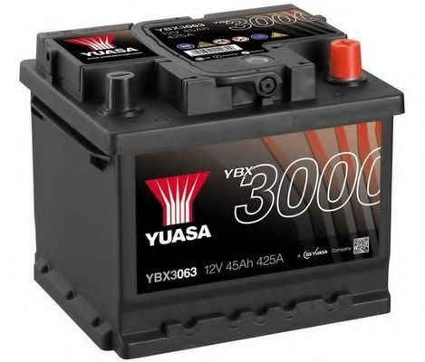 Аккумулятор 12В 45Ач SMF YUASA YBX3063