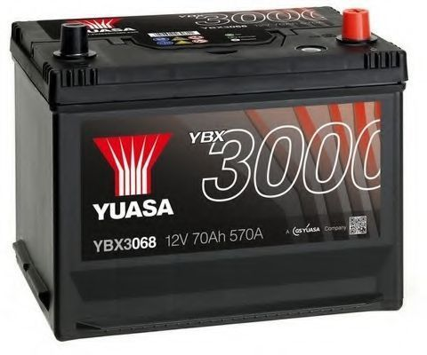 Аккумулятор 70Ач YUASA YBX3068