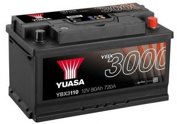 Купить Аккумулятор 80Ач SMF YUASA YBX3110