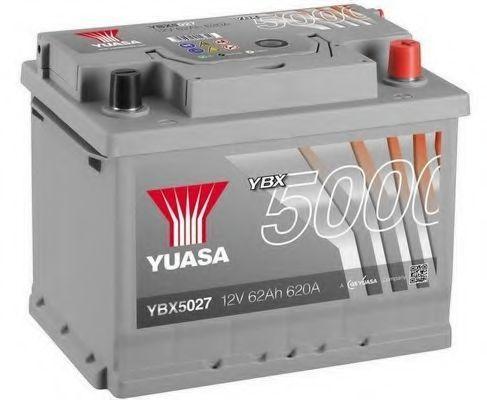 Аккумулятор 12В 62Ач Silver High Performance YUASA YBX5027