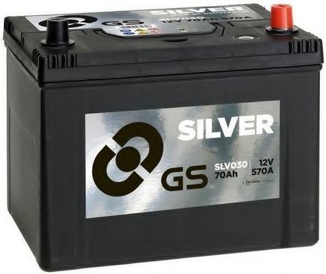 Стартерная аккумуляторная батарея GS SLV030