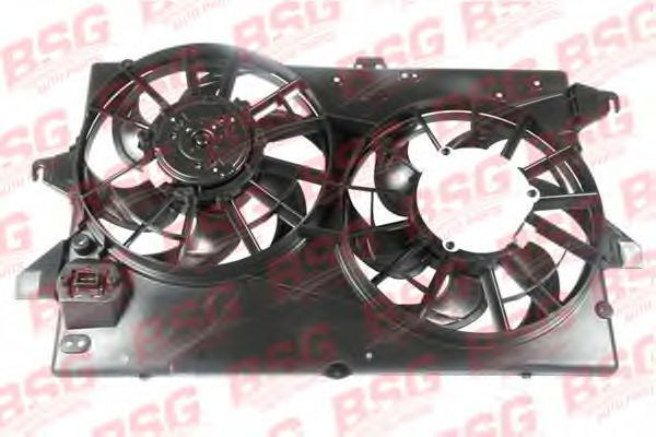 Вентилятор, охлаждение двигателя BSG BSG30510007