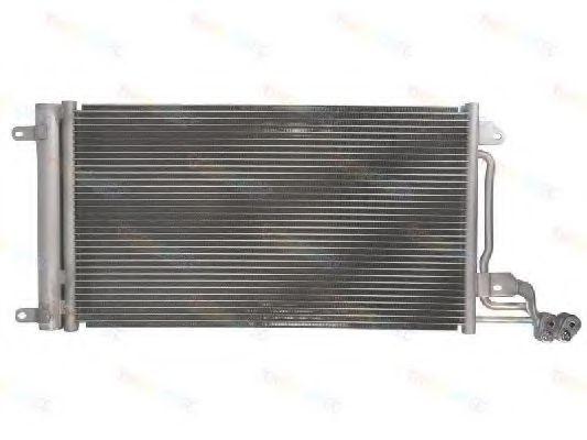 Радиатор кондиционера THERMOTEC KTT110042