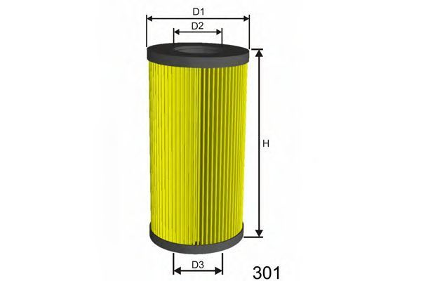 Фильтр масляный MISFAT L586