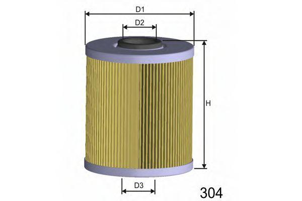 Фильтр топливный MISFAT F689