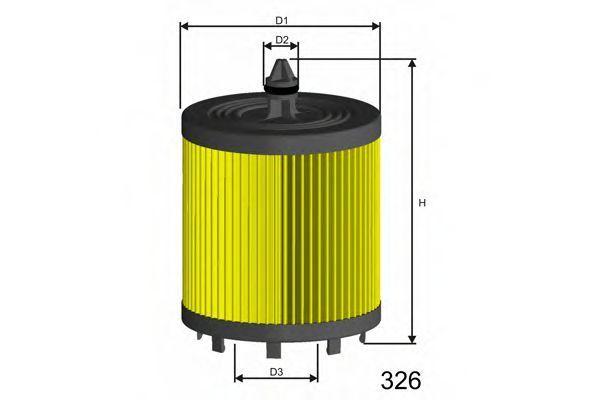 Фильтр масляный MISFAT L024