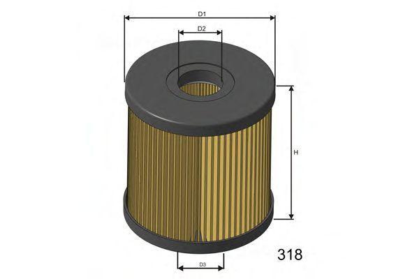 Фильтр топливный MISFAT F119