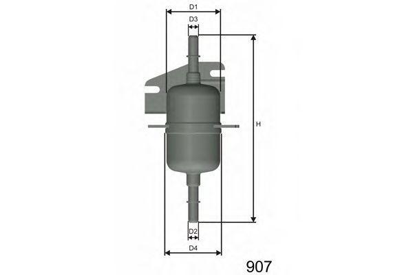 Фильтр топливный MISFAT E105