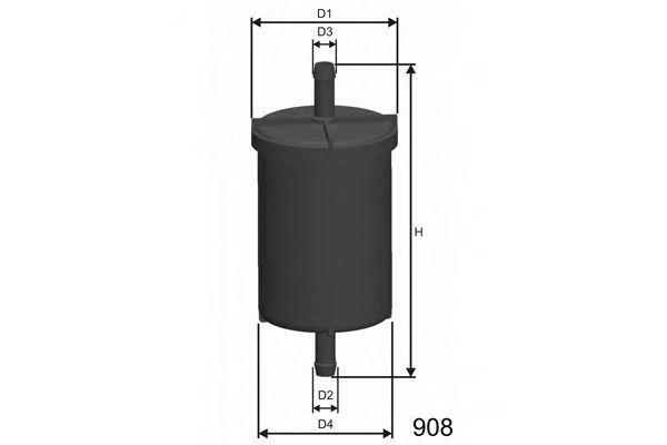 Фильтр топливный MISFAT E710