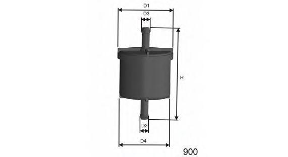 Фильтр топливный MISFAT E514