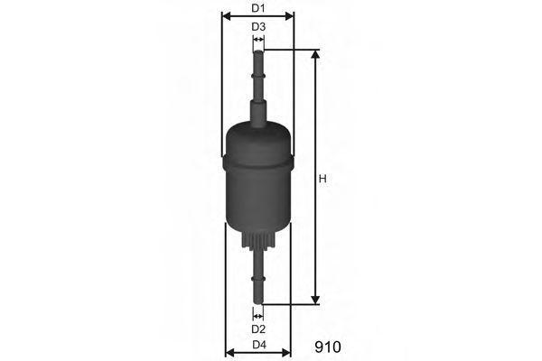 Фильтр топливный MISFAT E844