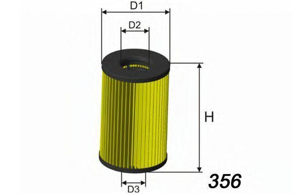 Фильтр масляный MISFAT L120